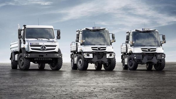 Noua gam 2013 Mercedes-Benz Unimog
