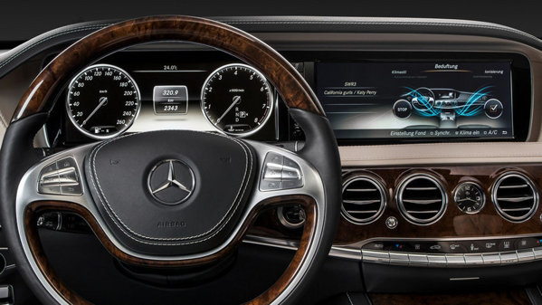TOP 10 gadgeturi din noul Mercedes-Benz S-Class