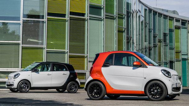 Noile Smart Fortwo şi Smart Forfour: imagini şi informaţii oficiale. UPDATE