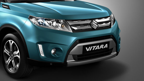 Primele imagini oficiale cu noul Suzuki Vitara