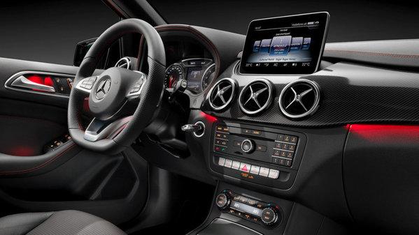 Mercedes-Benz B-Class facelift: imagini şi informaţii oficiale