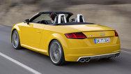 Audi TT cabrio: informaţii şi imagini oficiale cu noul Audi TT decapotabil
