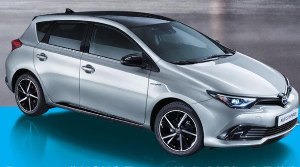 Noul Toyota Auris Hybrid Black Edition, disponibil şi în România