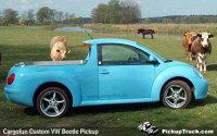 Volkswagen Beetle pick-up