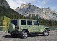 Un Jeep Verde