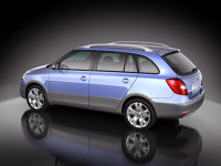 Fabia Scout - lateral