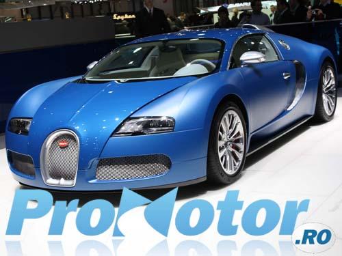 Bugatti Veryon - Model aniversar de 1350 CP
