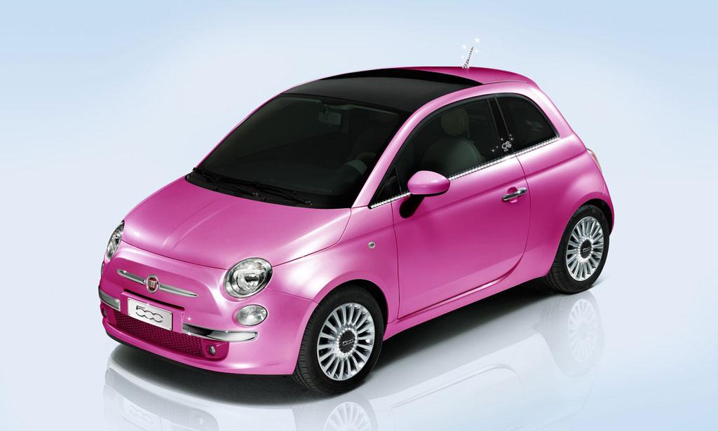 2009 Fiat 500 Barbie Concept. Fiat 500 - ediţie specială