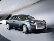 Rolls Royce Ghost - modelul de serie