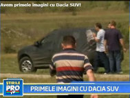 Dacia SUV - Primele poze spion