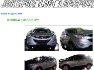 Hyundai ix35 - Complet dezgolit