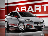 Fiat Grande Punto Abarth Supersport la Frankfurt 2009