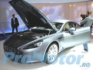 Aston Martin Rapide străluceşte la salonul german
