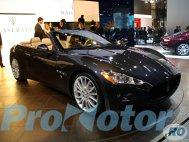 Maserati GranCabrio, premiera la Frankfurt 2009