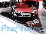 Audi R8 V10 complet cromat la Frankfurt 2009