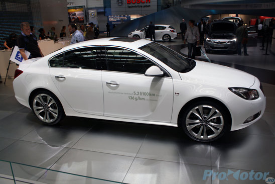 Opel Insignia ecoFLEX - la Frankfurt 2009 a fost inaugurata versiunea de 130 CP