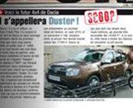 Dacia SUV se va numi Dacia Duster