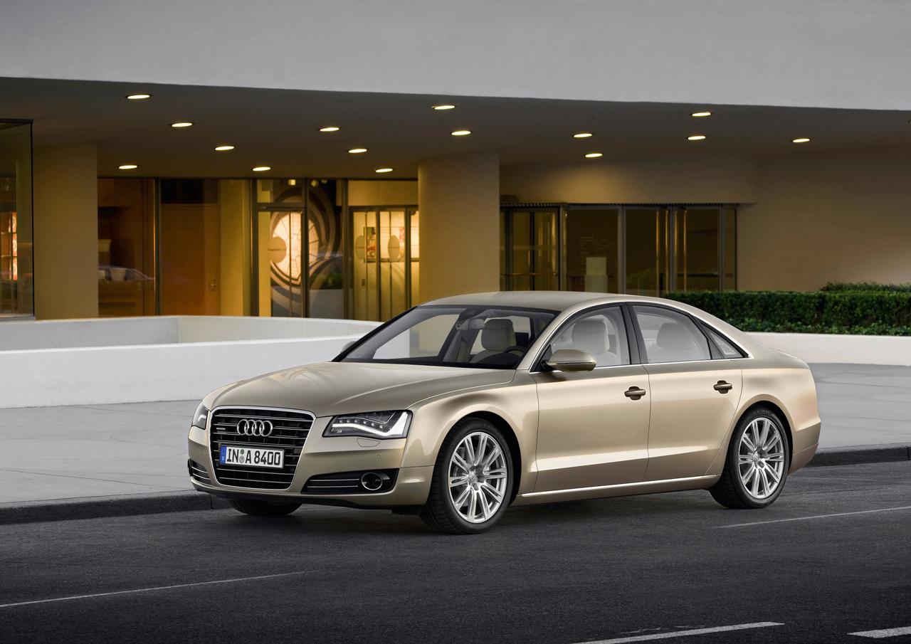Imagini Audi A8 Noua Limuzină Audi