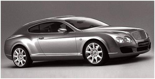 Bentley Continental GT bz Castagna