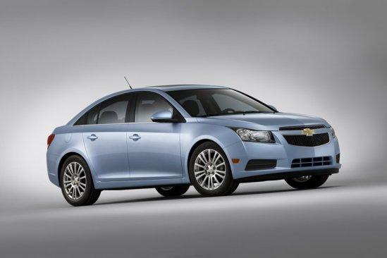 Chevrolet Cruze Eco este creditat cu un consum mediu de 5,9 litri/100 km