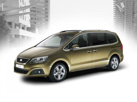 Noul Seat Alhambra este fratele putin diferit al lui Volkswagen Sharan