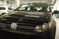 VW Polo Sedan fata