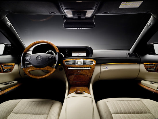 Mercedes CL interior