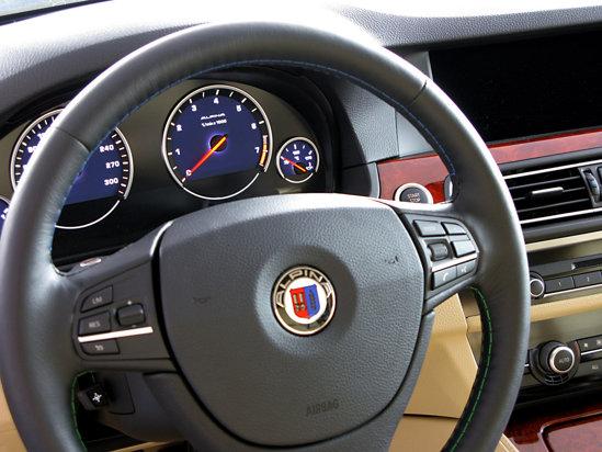Alpina B5 Bi-Turbo interior