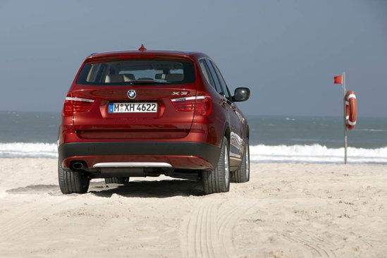 BMW X3 spate