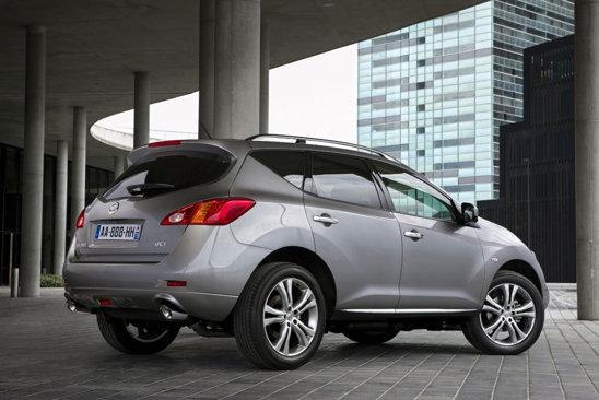 Nissan Murano facelift