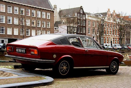 Audi 100 S Coupe - muza pentru A7