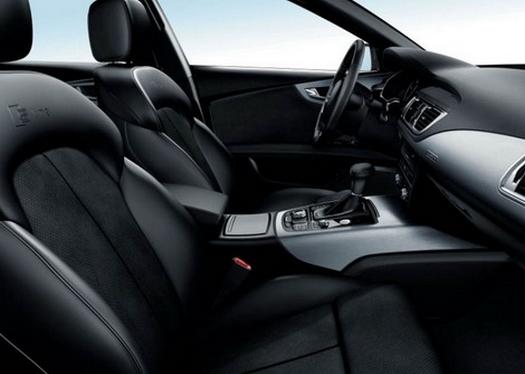 Audi A7 S Line interior