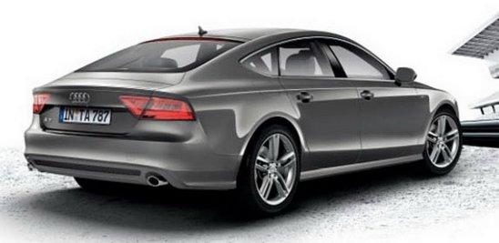 Audi A7 S Line spate