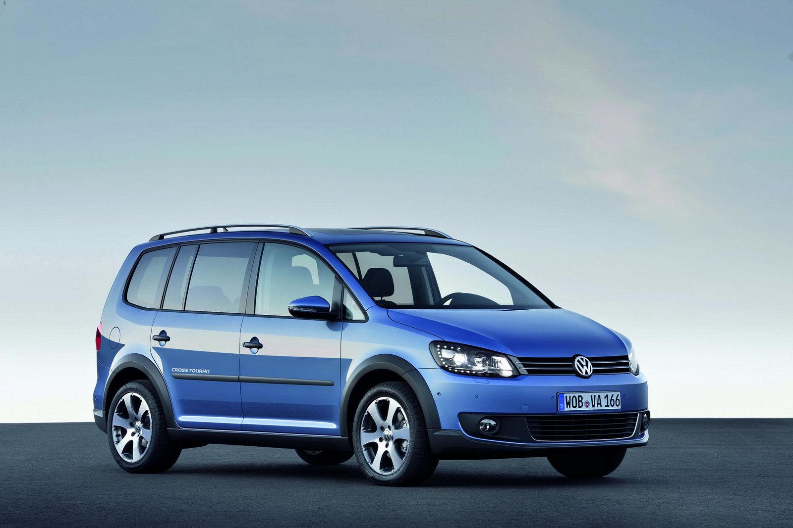 Volkswagen CrossTouran – detalii oficiale