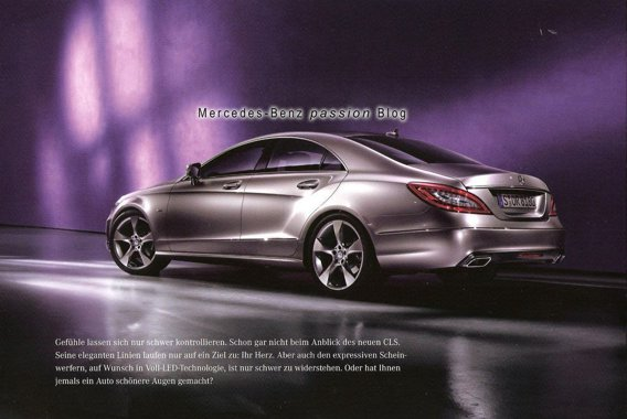Mercedes CLS spate