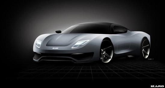 Izaro Motors GT-E va avea ori propulsie hibrida, ori motor total electric