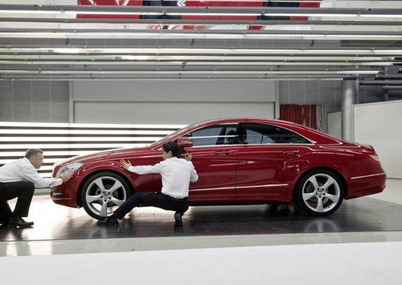 Mercedes-Benz CLS imagini reale