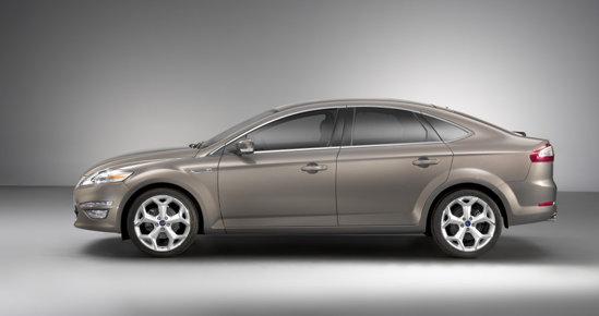 Ford Mondeo facelift a fost prezentat in premiera la Salonul Auto Moscova 2010