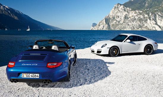 Premiera noii versiuni Porsche 911 Carrera GTS va fi la Salonul Auto Paris 2010