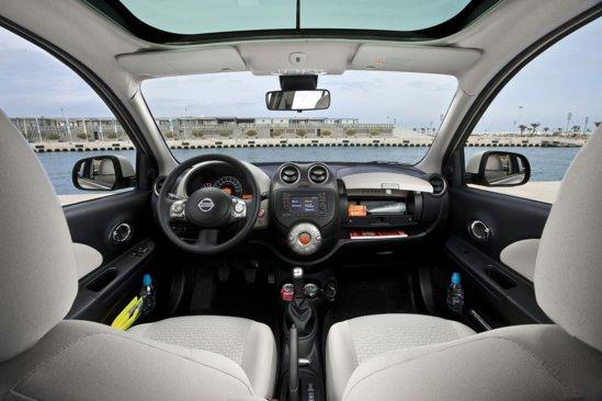 Interiorul noului Nissan Micra are materiale mai bune si o ergonomie exemplara