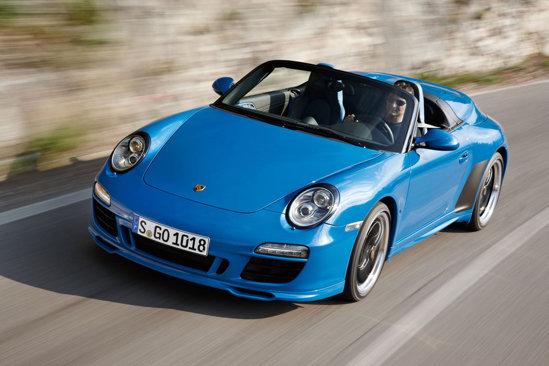 Noul Porsche 911 Speedster vafi produs in doar 365 de exemplare, la un pret de peste 200.000 euro