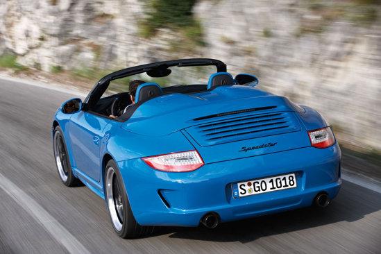 Porsche 911 Speedster va avea premiera mondiala la Salonul Auto Paris 2010