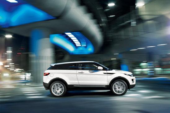 Versiunea de baza Range Rover Evoque eD4 are 150 CP si un consum de 4,9 litri/100 km