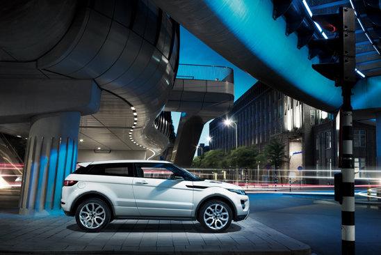 Noul Range Rover Evoque va avea un pret de baza de 35.000 euro in Europa