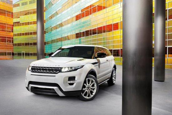 Versiunea de echipare de top, Range Rover Evoque Dynamic, are un pachet estetic dedicat