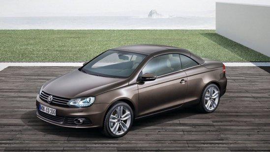 Volkswagen Eos primeste un facelift in stilul deja cunoscut de la VW Golf 6