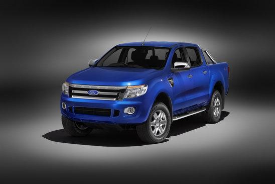 Noul Ford Ranger este construit pe aceeasi platforma tehnica a lui Mazda BT-50