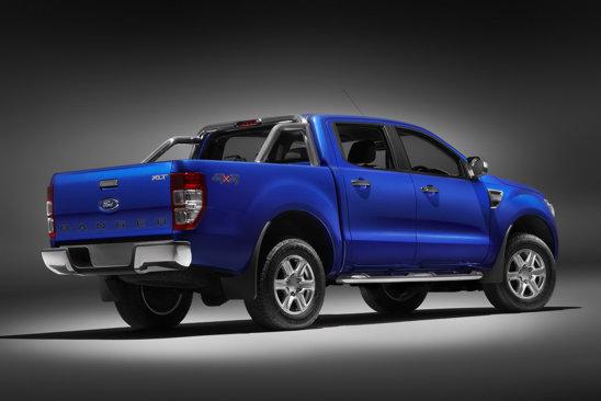 Noul Ford Ranger are bena mai mare, oferind pana la 1,21 metri cubi spatiu de incarcare