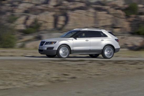 Saab 9-4X va fi oferit pentru inceput cu doua V6 pe benzina, de 265 CP si de 300 CP