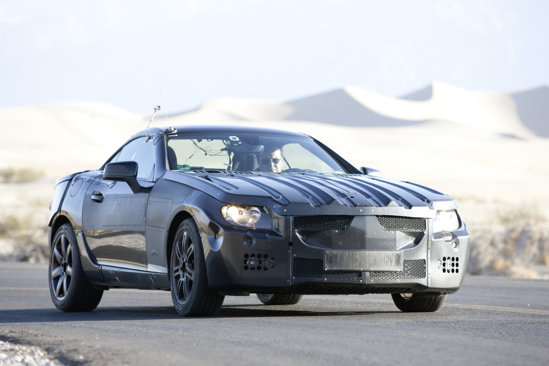 Noua generatie Mercedes SLK va aparea in 2011 si va oferi optional MAGIC SKY CONTROL